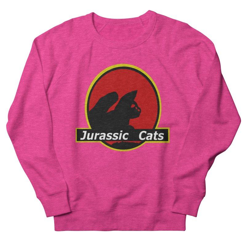 Jurassic Cats Men's Sweatshirt by Roe's Shop