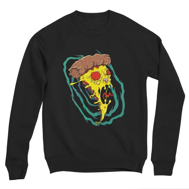 Pizza Time Warp Women's Sweatshirt by Good Times for the End of Days