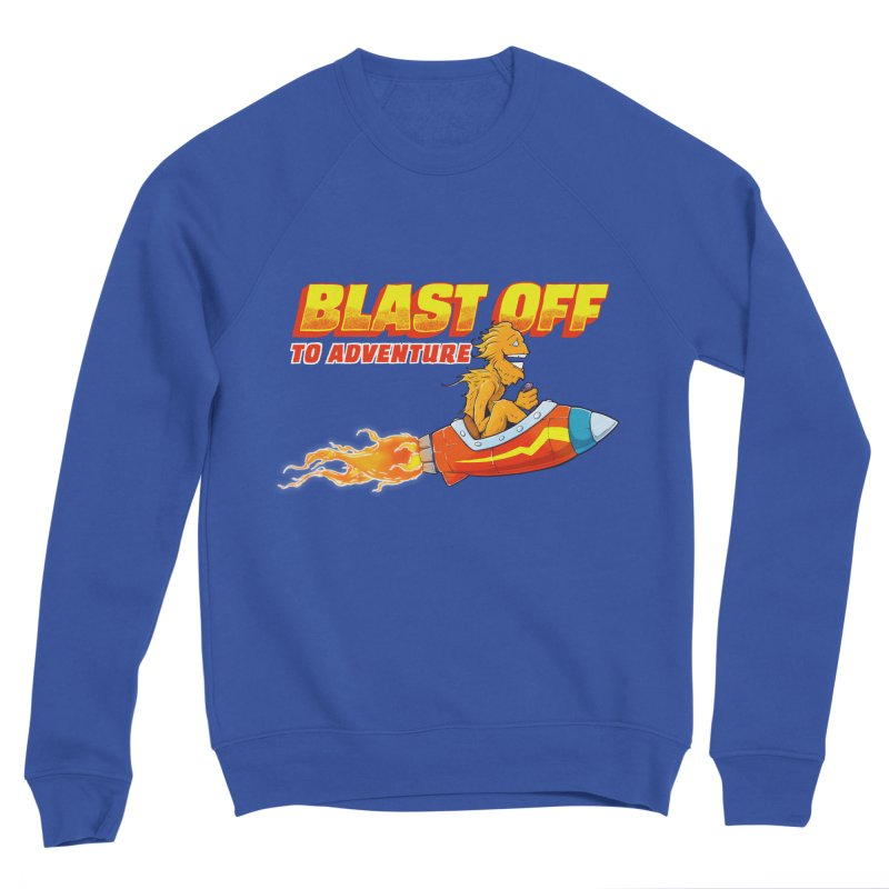 Blast Off to Adventure Women's Sweatshirt by Good Times for the End of Days