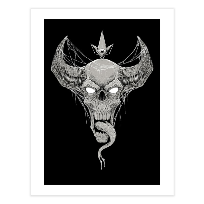 Waking the Daemon Home Fine Art Print by Good Times for the End of Days