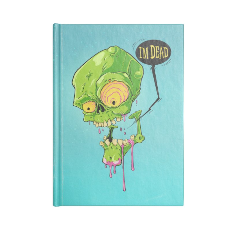 Dead Shred Accessories Notebook by Good Times for the End of Days