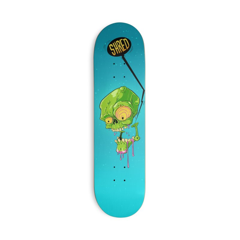 Dead Shred Accessories Skateboard by Good Times for the End of Days