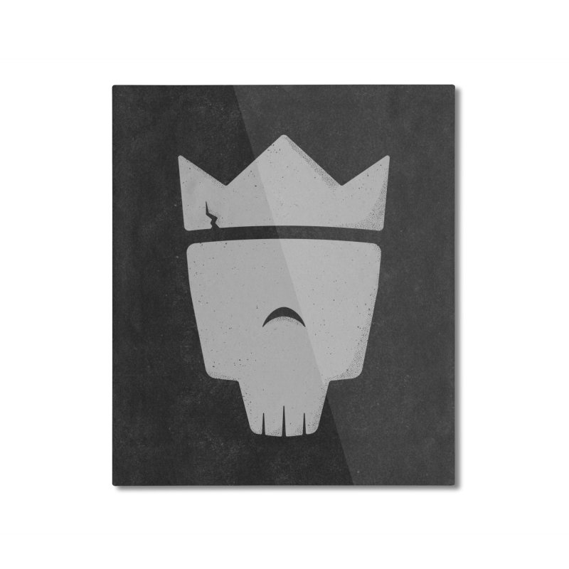 Rule the Night Home Mounted Aluminum Print by Good Times for the End of Days
