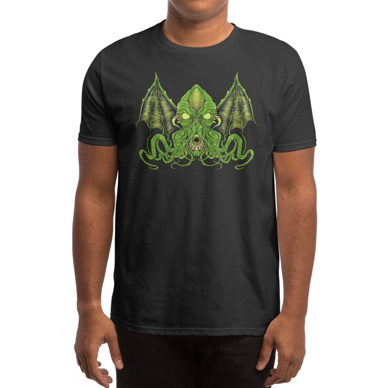 Cthulhu: The Sleeper Awakes OB-7 Edt. Men's T-Shirt by Good Times for the End of Days