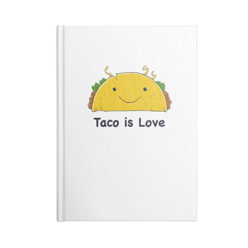 The Teachings of Taco 1 Accessories Notebook by Good Times for the End of Days