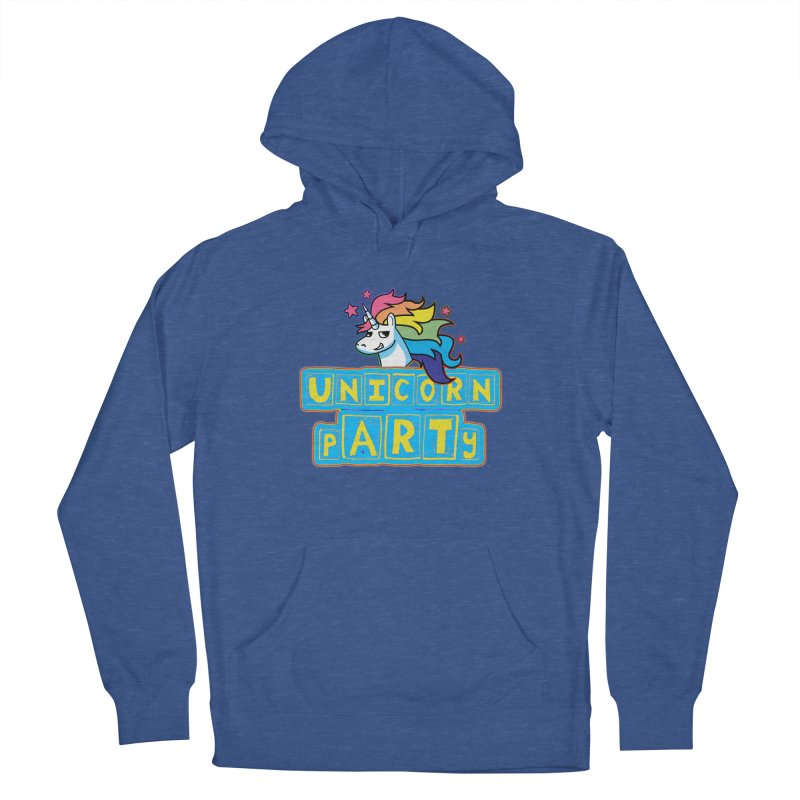 Unicorn pARTy Women's Pullover Hoody by Good Trouble Makers