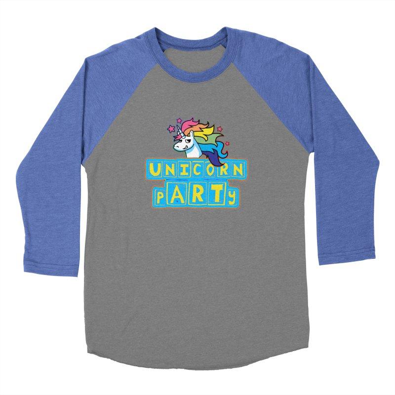 Unicorn pARTy Women's Longsleeve T-Shirt by Good Trouble Makers