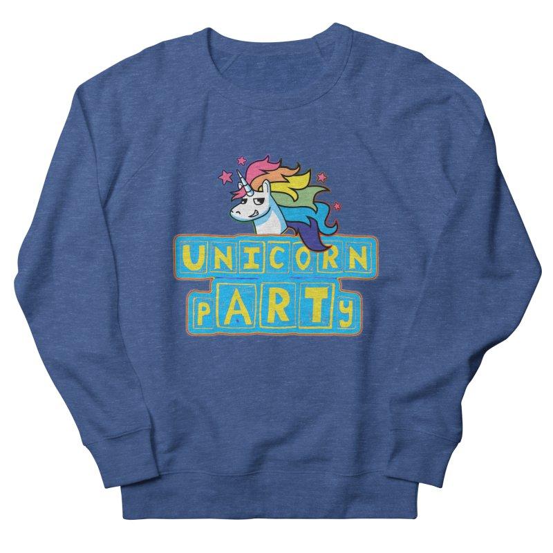 Unicorn pARTy Women's Sweatshirt by Good Trouble Makers