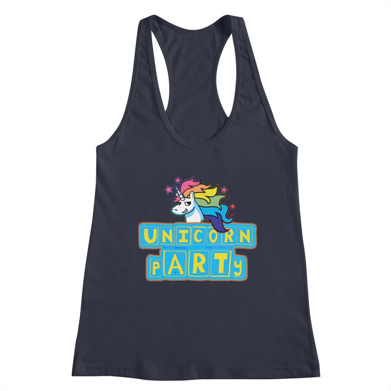 Unicorn pARTy Women's Tank by Good Trouble Makers
