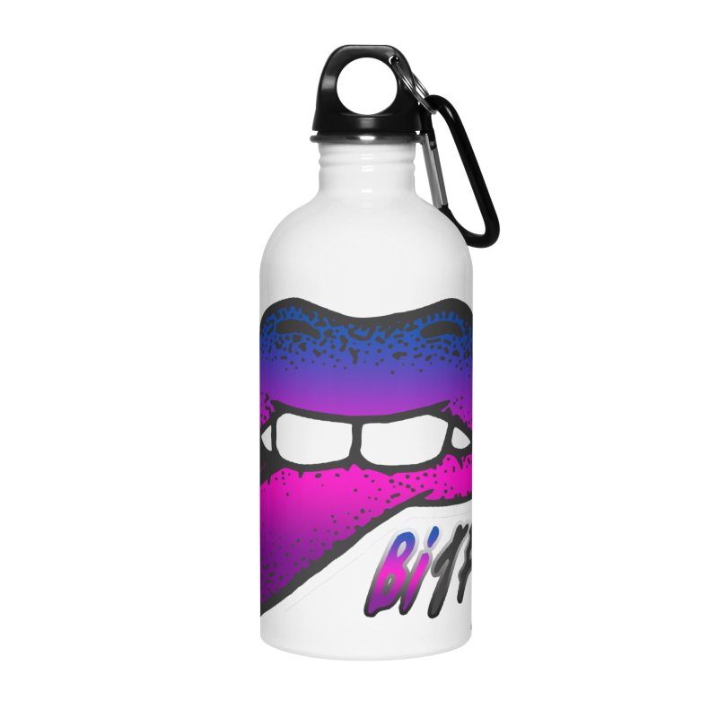 Bite Me Accessories Water Bottle by Good Trouble Makers