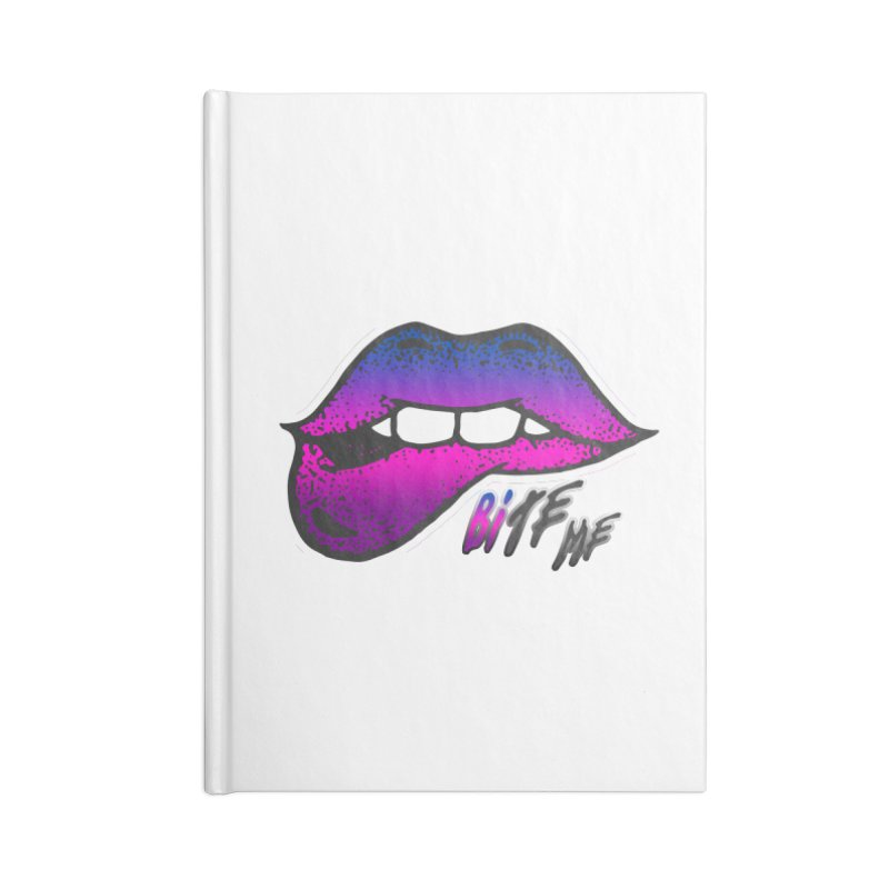 Bite Me Accessories Lined Journal Notebook by Good Trouble Makers