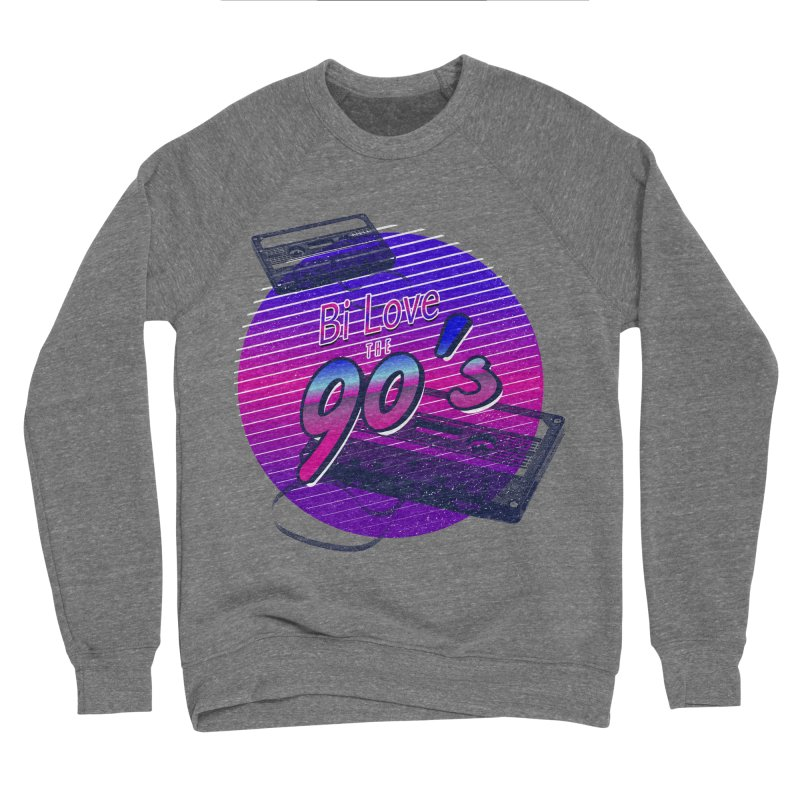 Bi Love The 90's Men's Sponge Fleece Sweatshirt by Good Trouble Makers