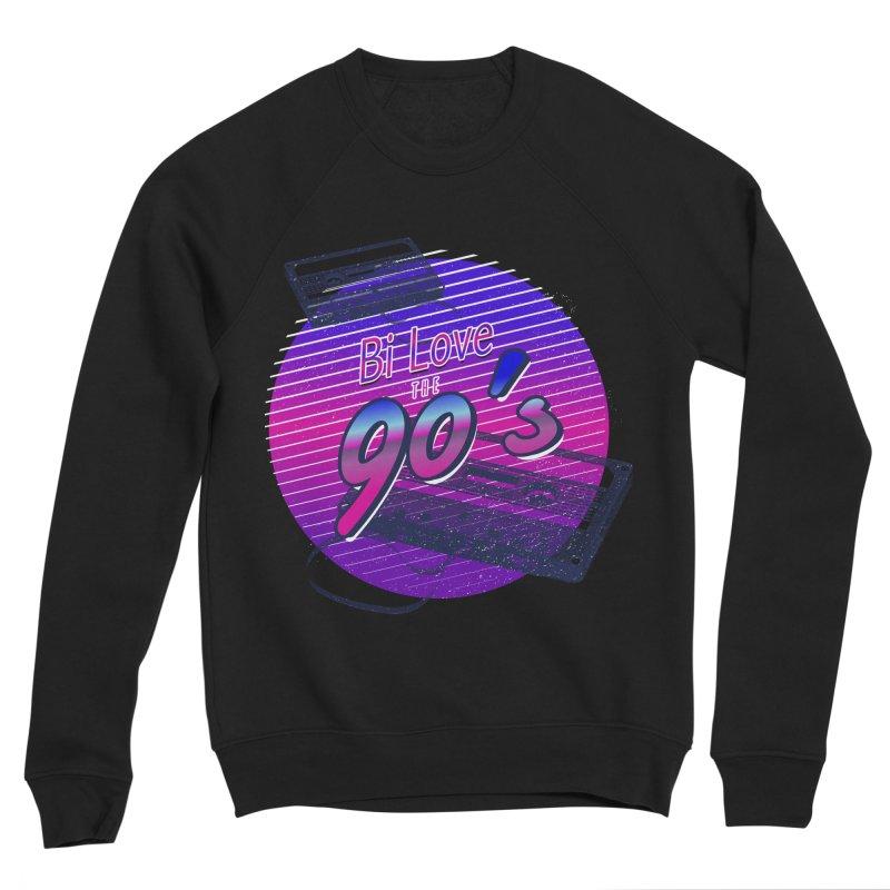 Bi Love The 90's Men's Sponge Fleece Sweatshirt by Good Trouble Makers