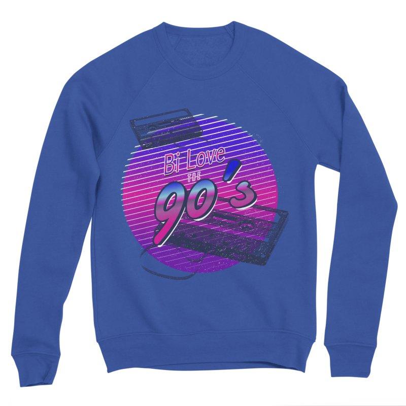 Bi Love The 90's Women's Sponge Fleece Sweatshirt by Good Trouble Makers