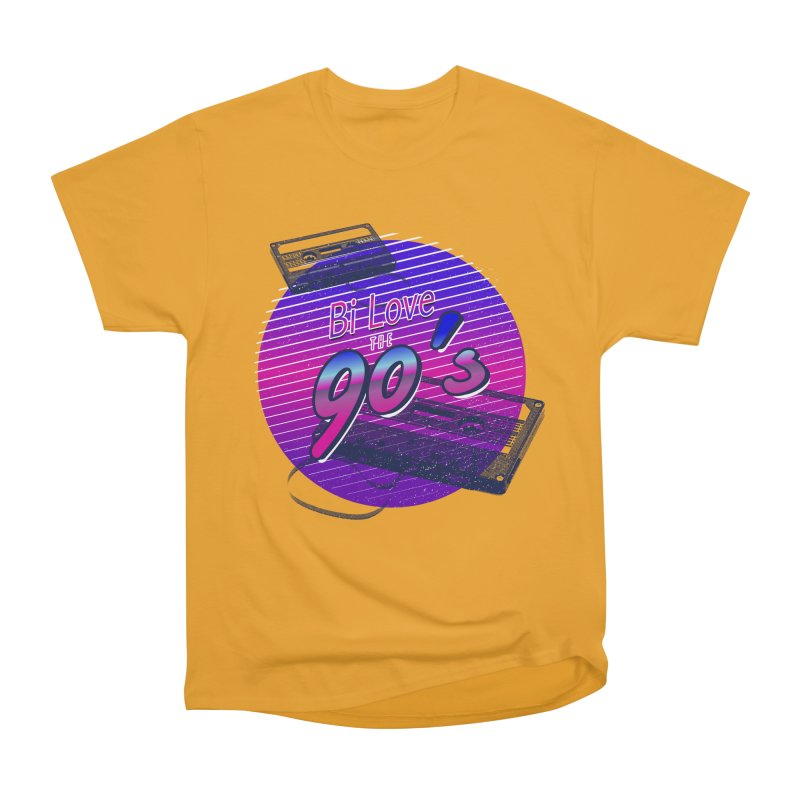 Bi Love The 90's Women's Heavyweight Unisex T-Shirt by Good Trouble Makers