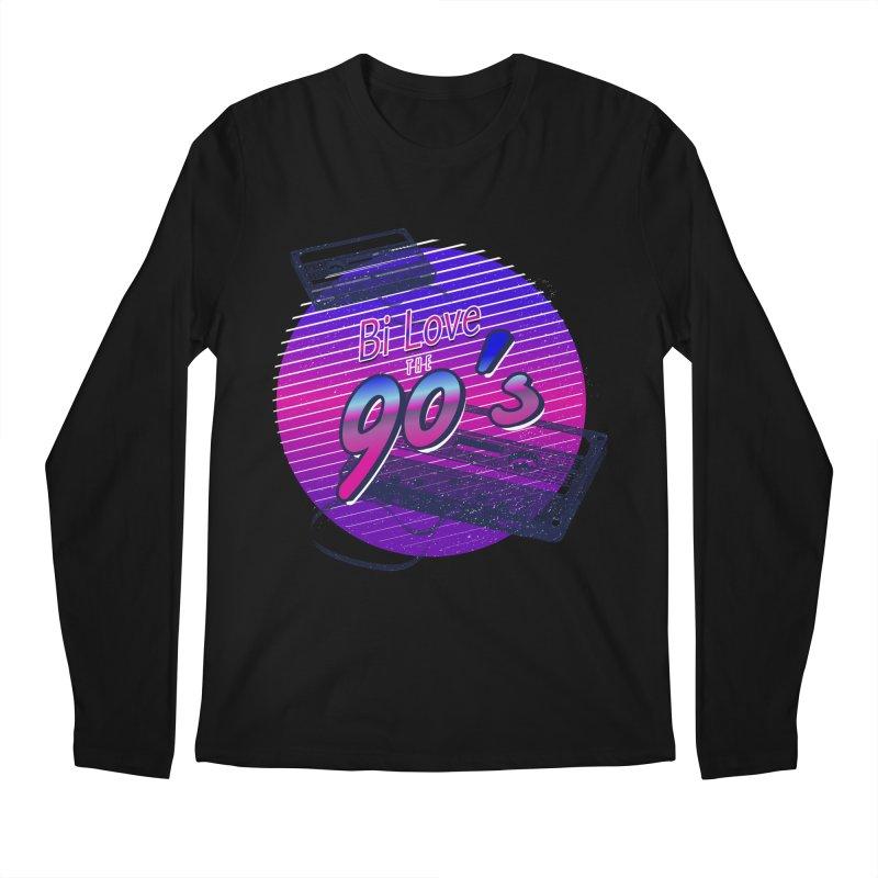 Bi Love The 90's Men's Regular Longsleeve T-Shirt by Good Trouble Makers