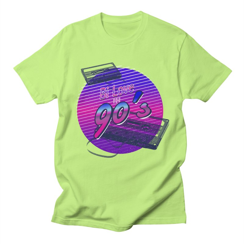 Bi Love The 90's Men's Regular T-Shirt by Good Trouble Makers