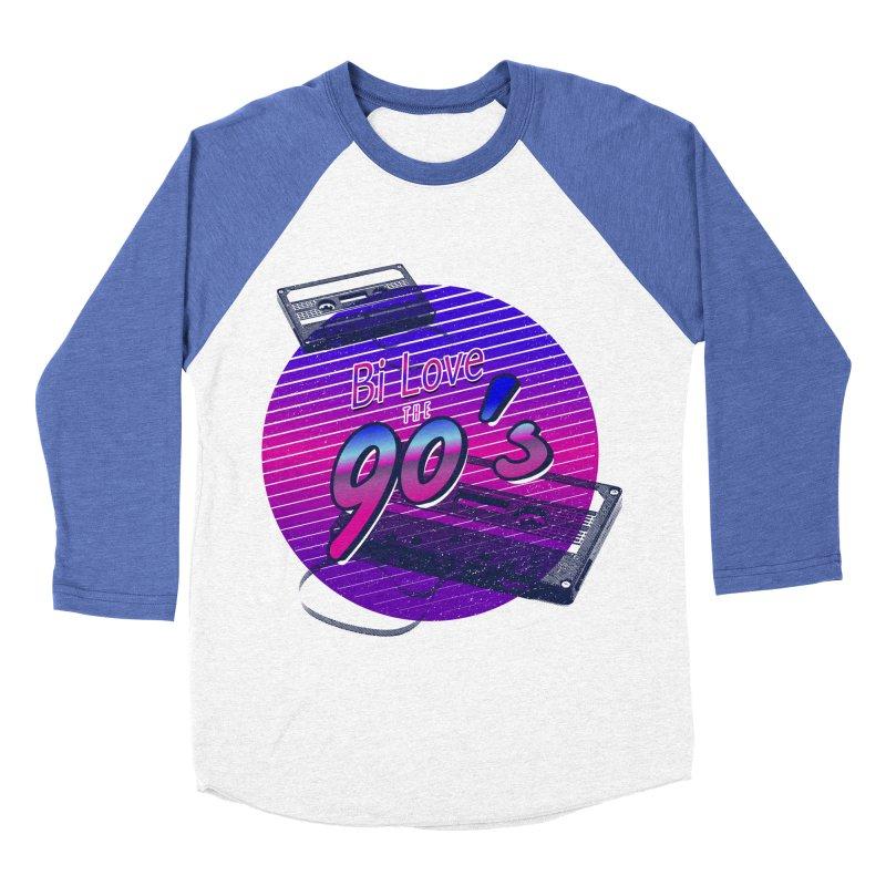 Bi Love The 90's Men's Baseball Triblend Longsleeve T-Shirt by Good Trouble Makers
