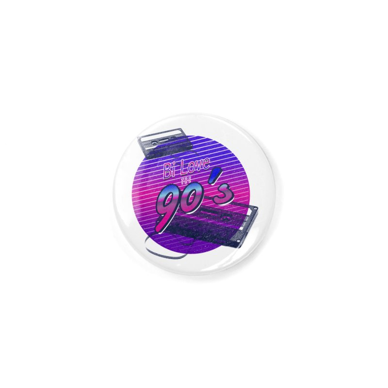 Bi Love The 90's Accessories Button by Good Trouble Makers