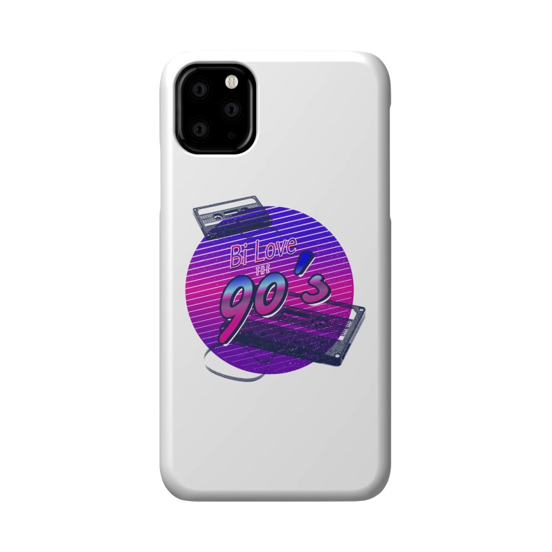 Bi Love The 90's Accessories Phone Case by Good Trouble Makers