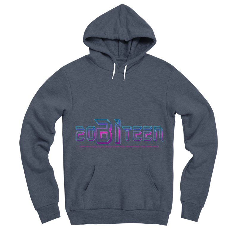 20BiTeen Men's Sponge Fleece Pullover Hoody by Good Trouble Makers