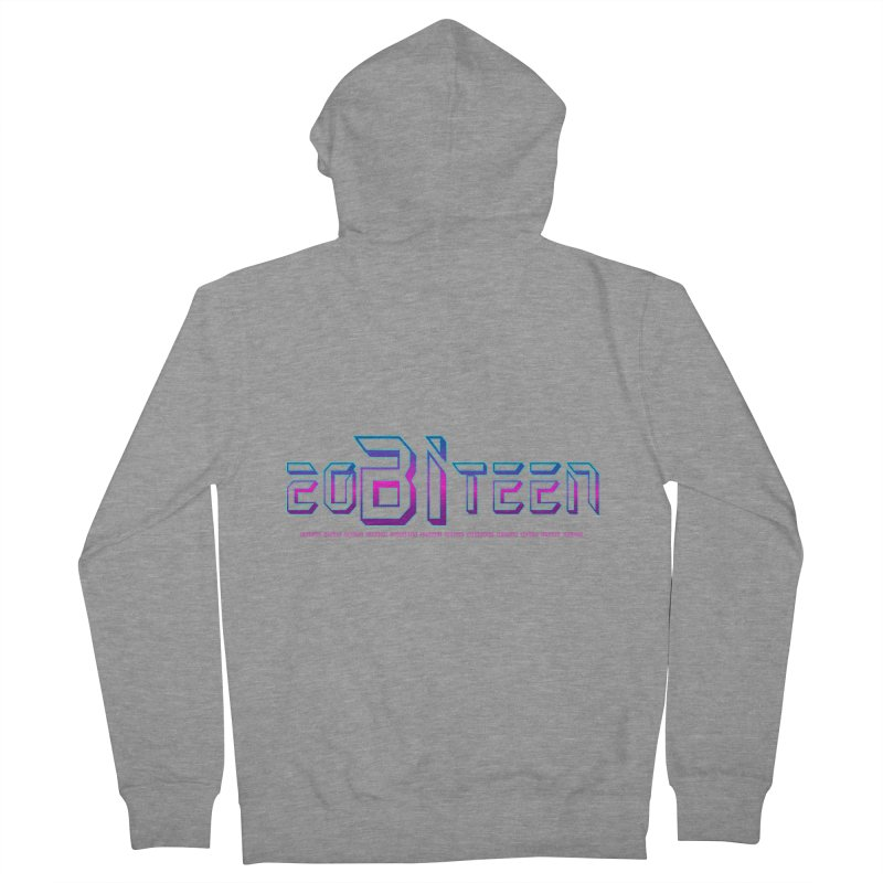 20BiTeen Women's French Terry Zip-Up Hoody by Good Trouble Makers
