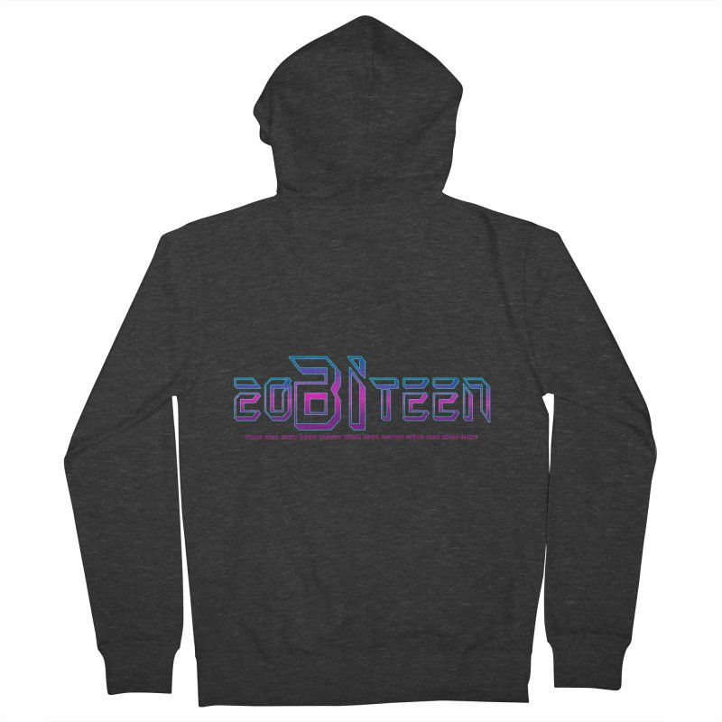 20BiTeen Men's French Terry Zip-Up Hoody by Good Trouble Makers