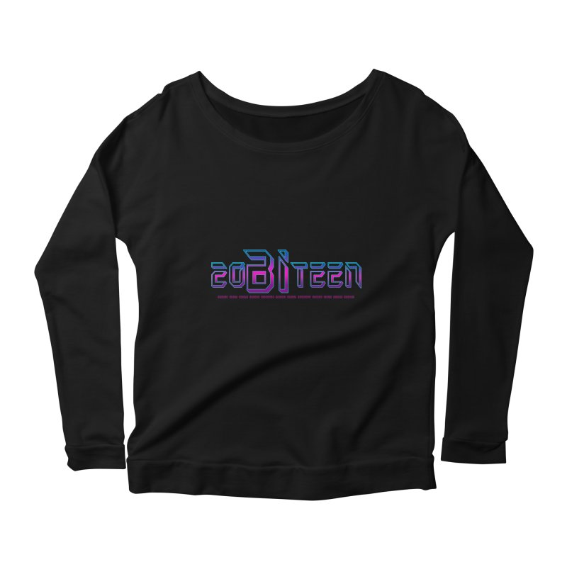 20BiTeen Women's Scoop Neck Longsleeve T-Shirt by Good Trouble Makers