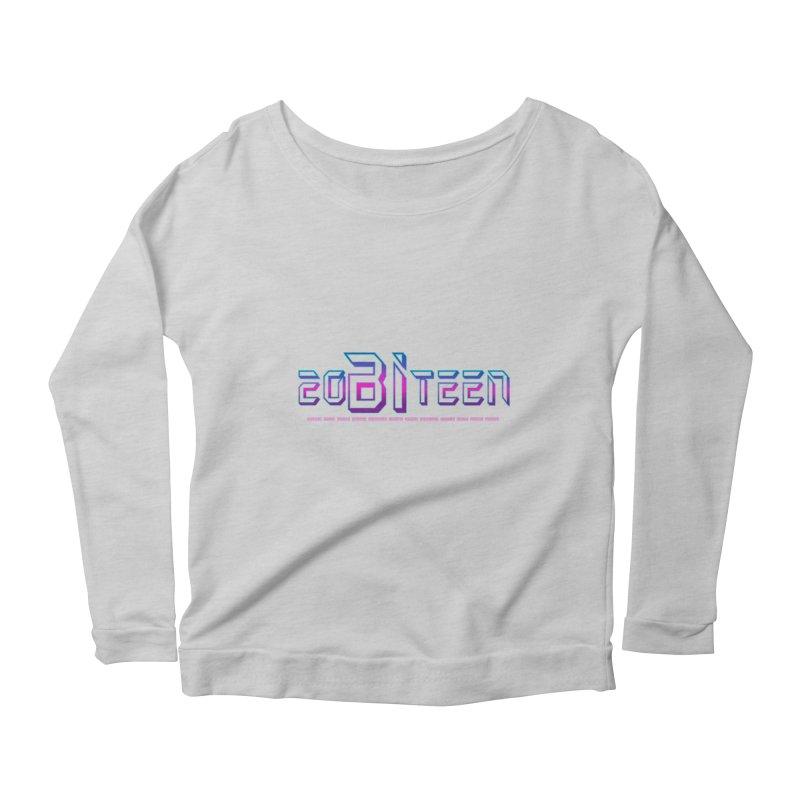 20BiTeen Women's Scoop Neck Longsleeve T-Shirt by Good Trouble Makers