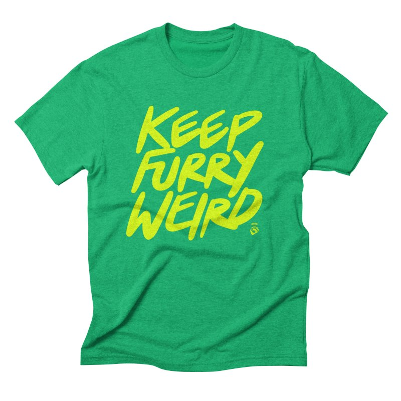 KFW.Y in Men's Triblend T-Shirt Tri-Kelly by GOOD × WEIRD