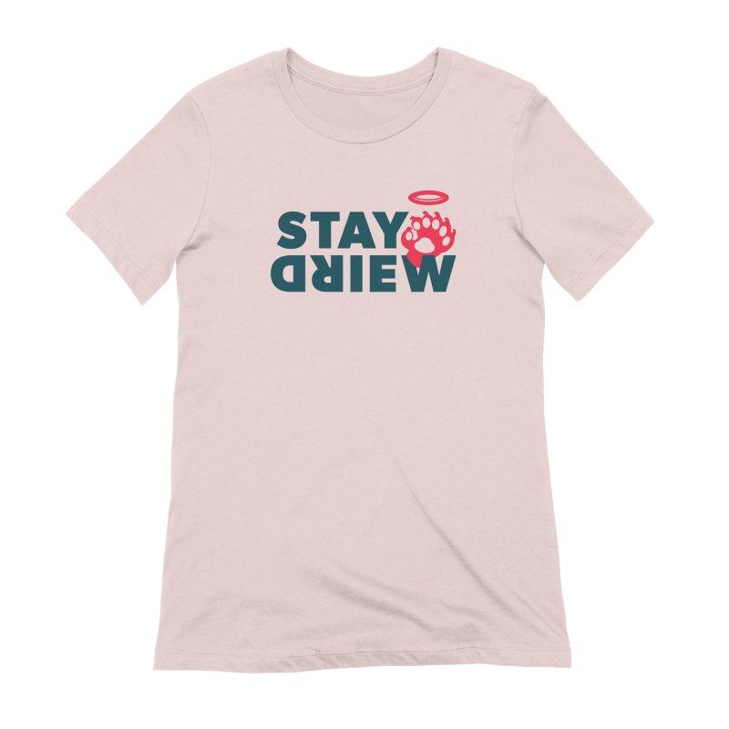 STAYWEIRD.RW Women's Extra Soft T-Shirt by GOOD × WEIRD