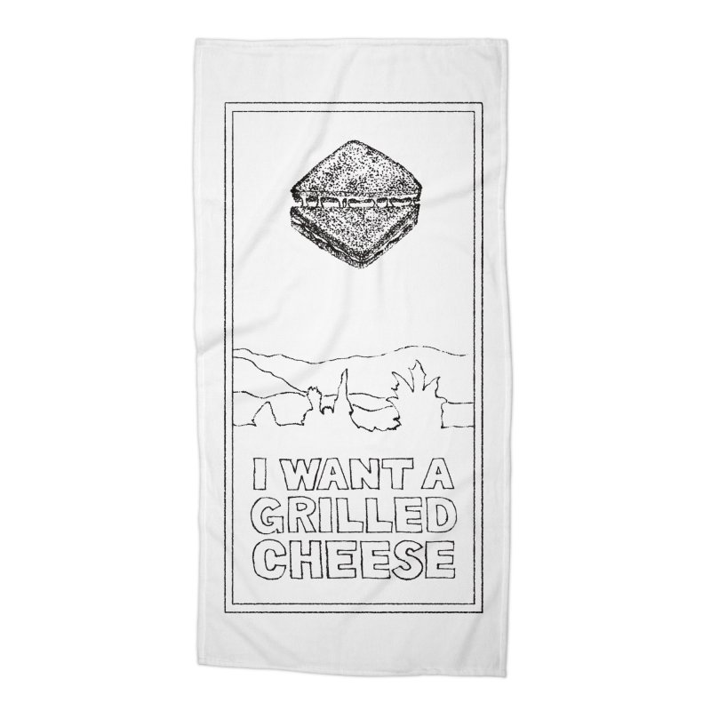 Mulder's Muenster Munchies Accessories Beach Towel by Bud Made