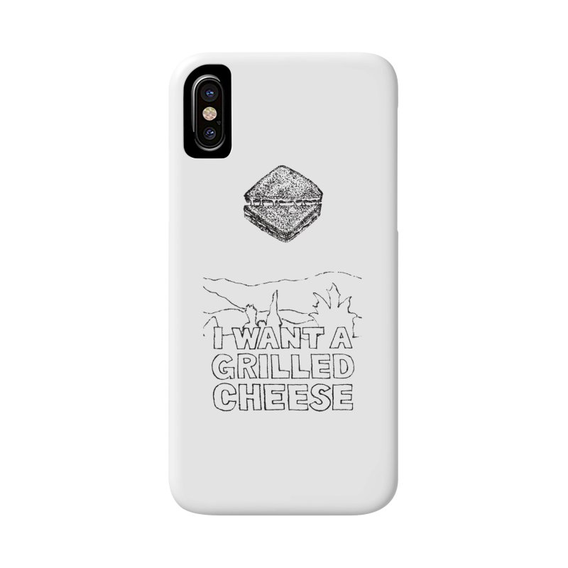 Mulder's Muenster Munchies Accessories Phone Case by Bud Made