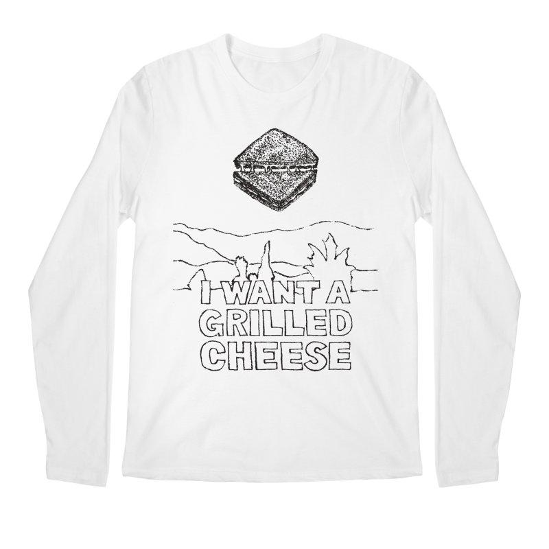 Mulder's Muenster Munchies Men's Longsleeve T-Shirt by Bud Made