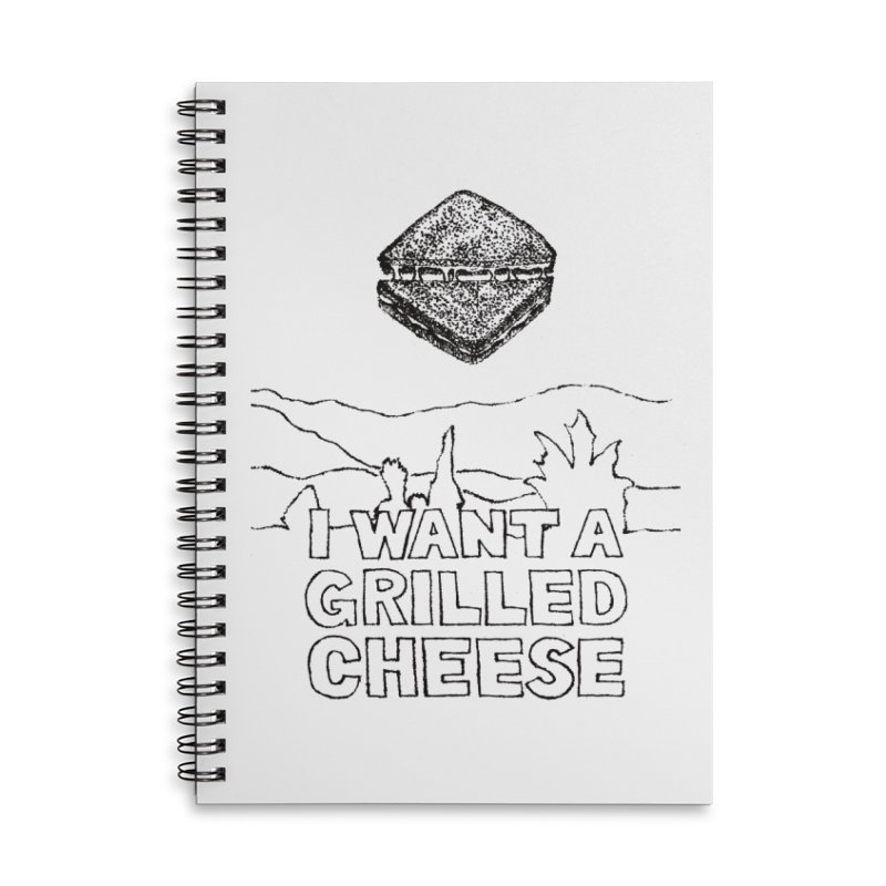 Mulder's Muenster Munchies Accessories Lined Spiral Notebook by Bud Made