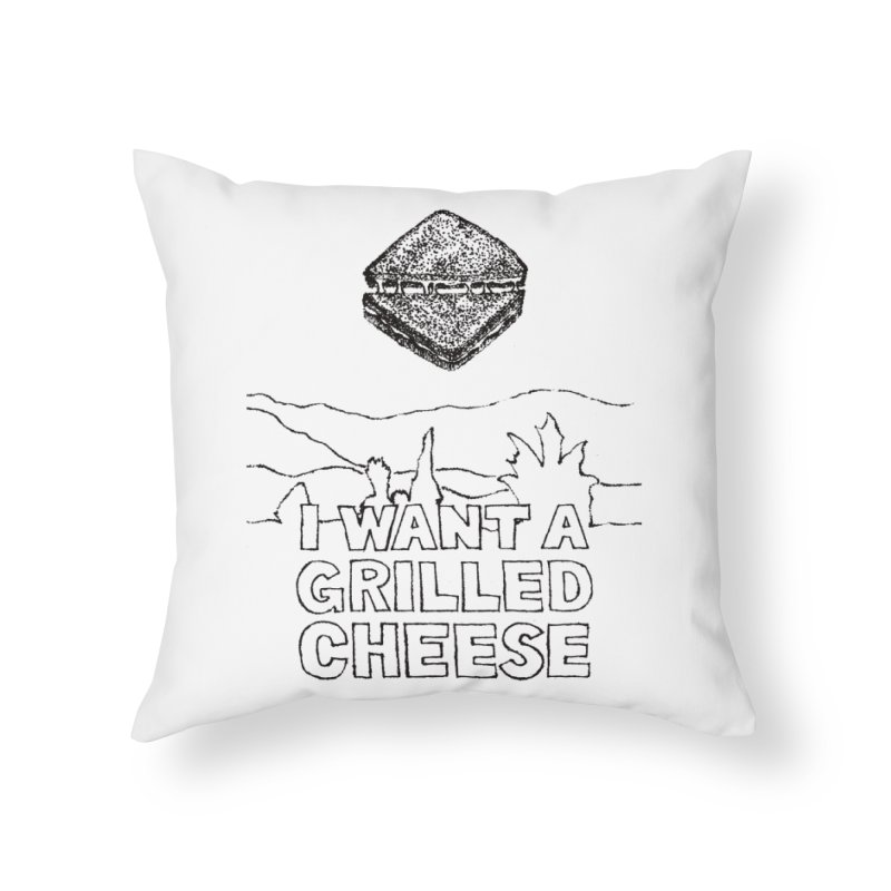 Mulder's Muenster Munchies Home Throw Pillow by Bud Made