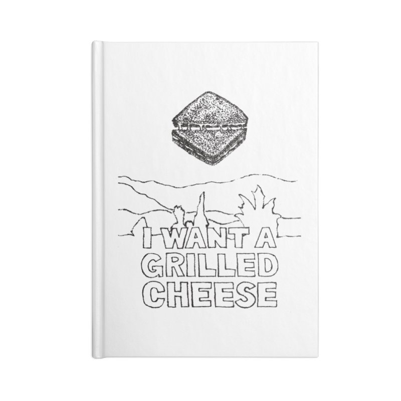 Mulder's Muenster Munchies Accessories Lined Journal Notebook by Bud Made