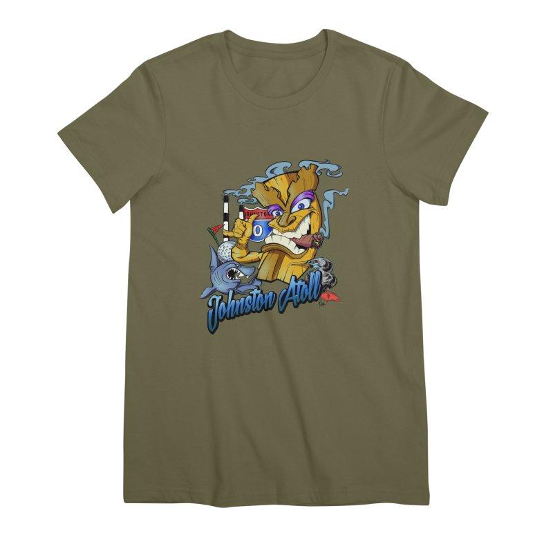 Johnston Island Women's Premium T-Shirt by goofyink's Artist Shop
