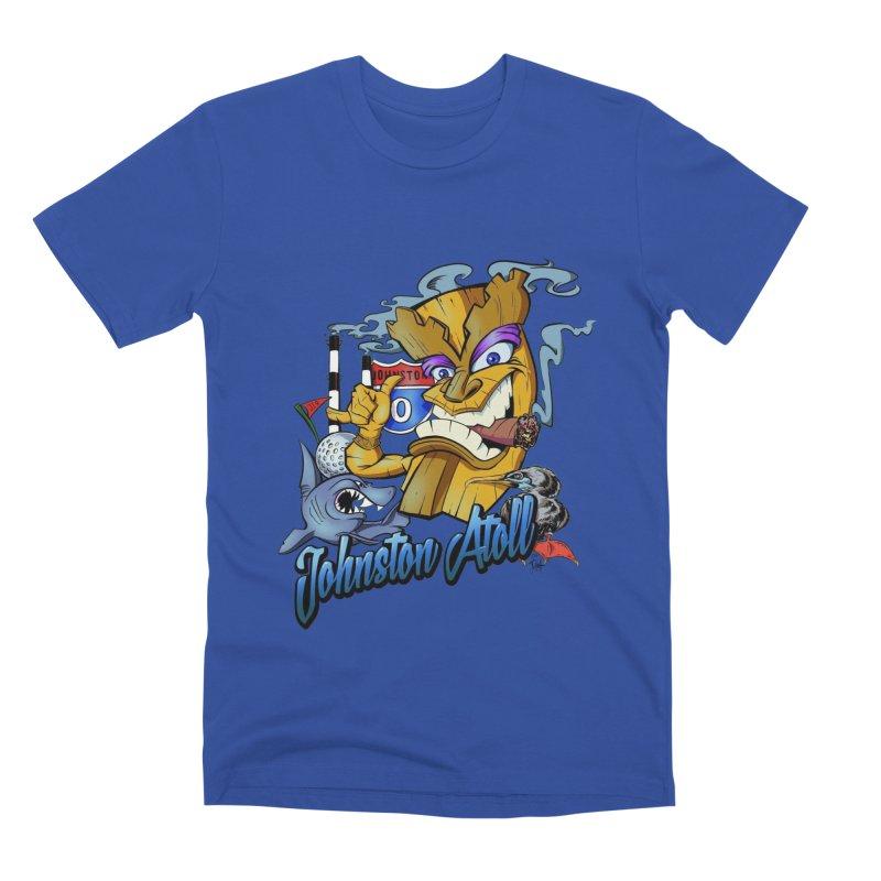 Johnston Island Men's Premium T-Shirt by goofyink's Artist Shop
