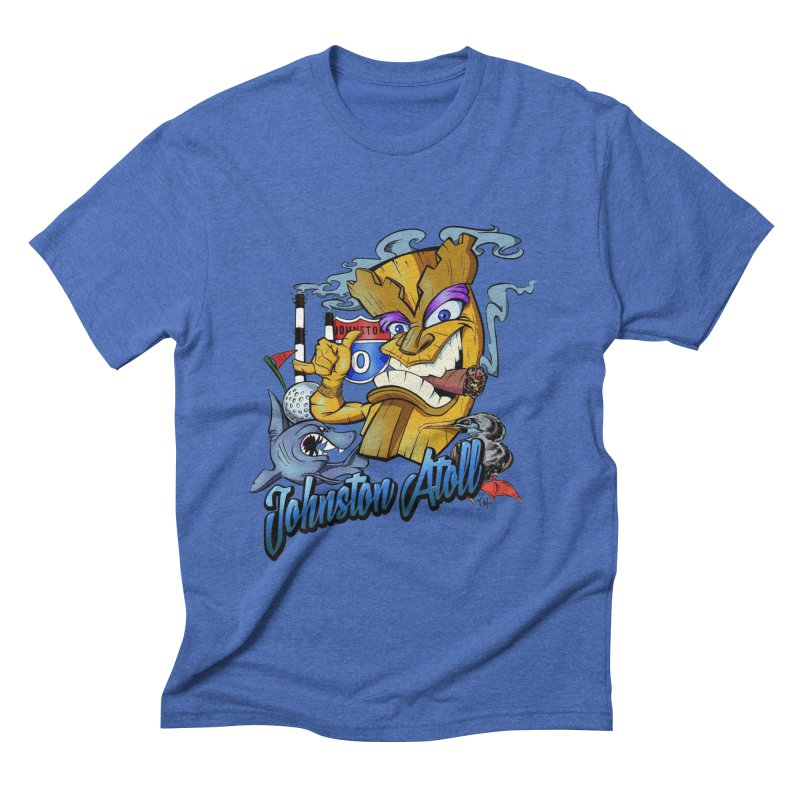 Johnston Island Men's T-Shirt by goofyink's Artist Shop