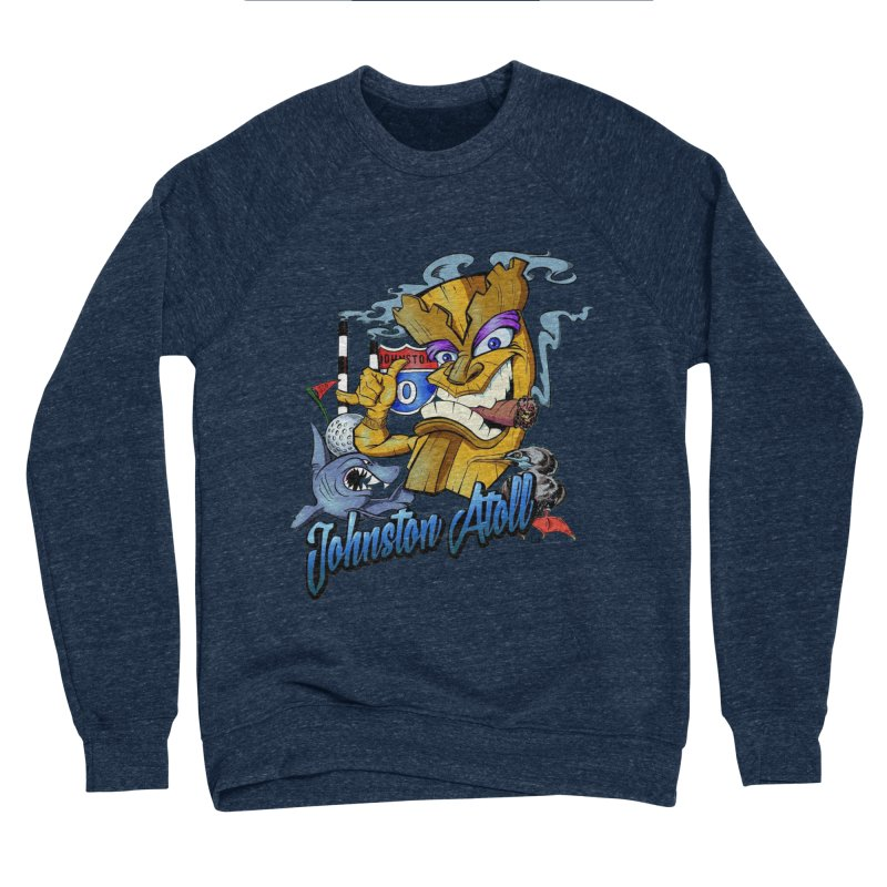 Johnston Island Men's Sponge Fleece Sweatshirt by goofyink's Artist Shop