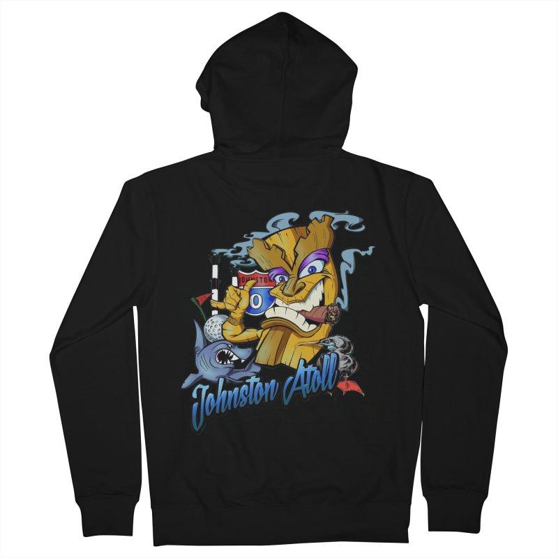 Johnston Island Men's Zip-Up Hoody by goofyink's Artist Shop