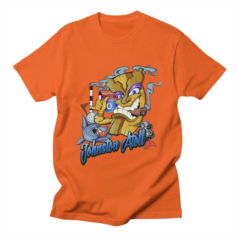 Johnston Island Men's Regular T-Shirt by goofyink's Artist Shop