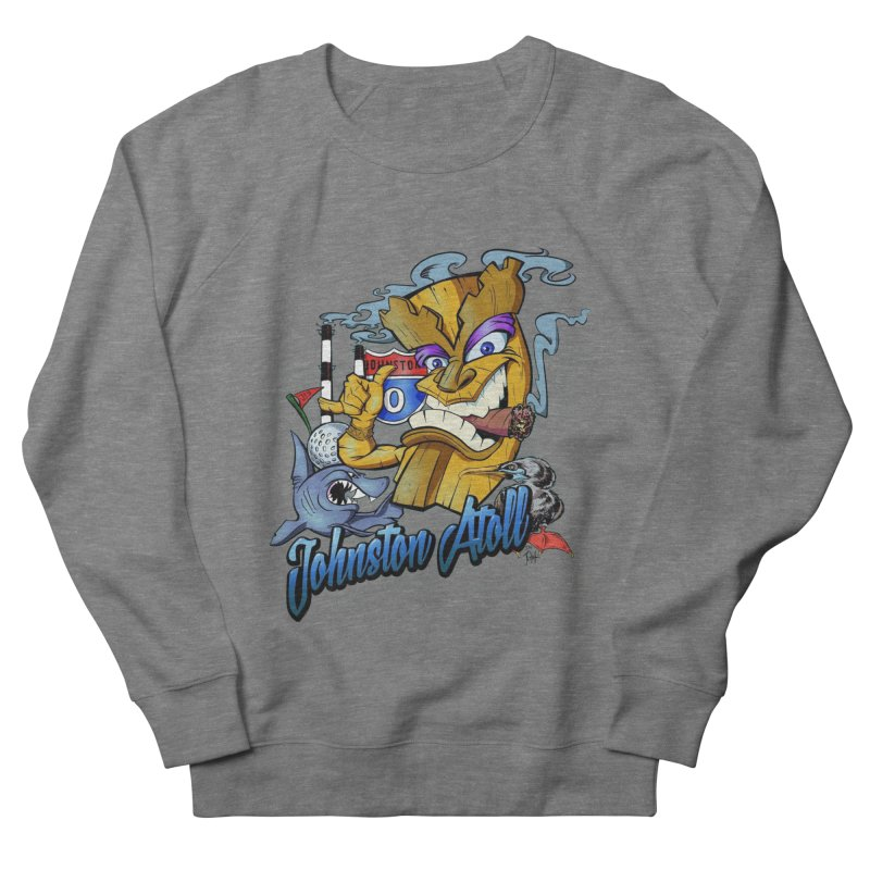 Johnston Island Women's Sweatshirt by goofyink's Artist Shop