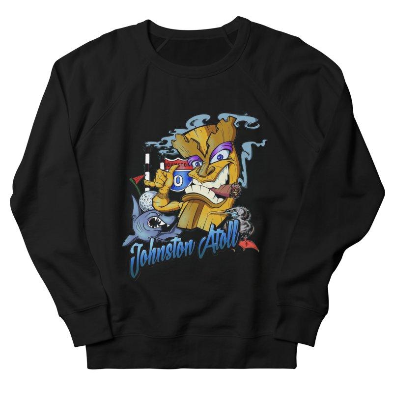 Johnston Island Men's French Terry Sweatshirt by goofyink's Artist Shop