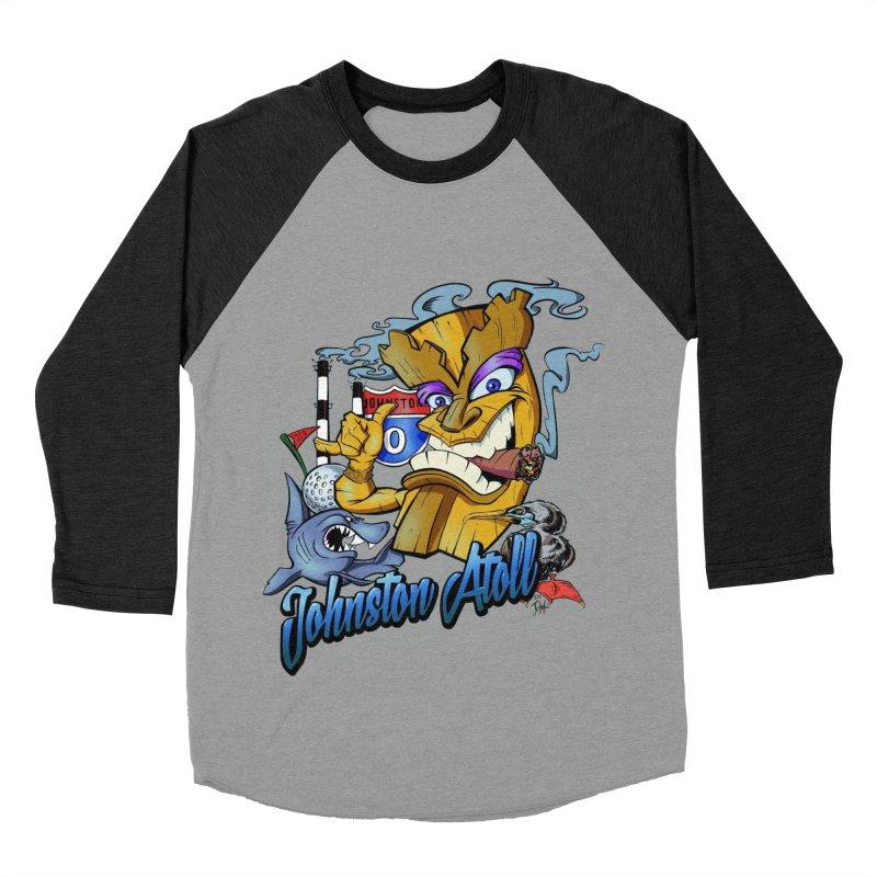 Johnston Island Women's Baseball Triblend Longsleeve T-Shirt by goofyink's Artist Shop
