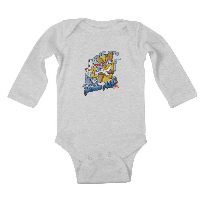 Johnston Island Kids Baby Longsleeve Bodysuit by goofyink's Artist Shop