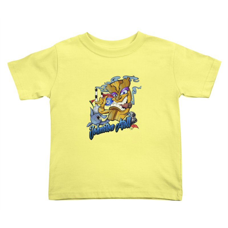 Johnston Island Kids Toddler T-Shirt by goofyink's Artist Shop