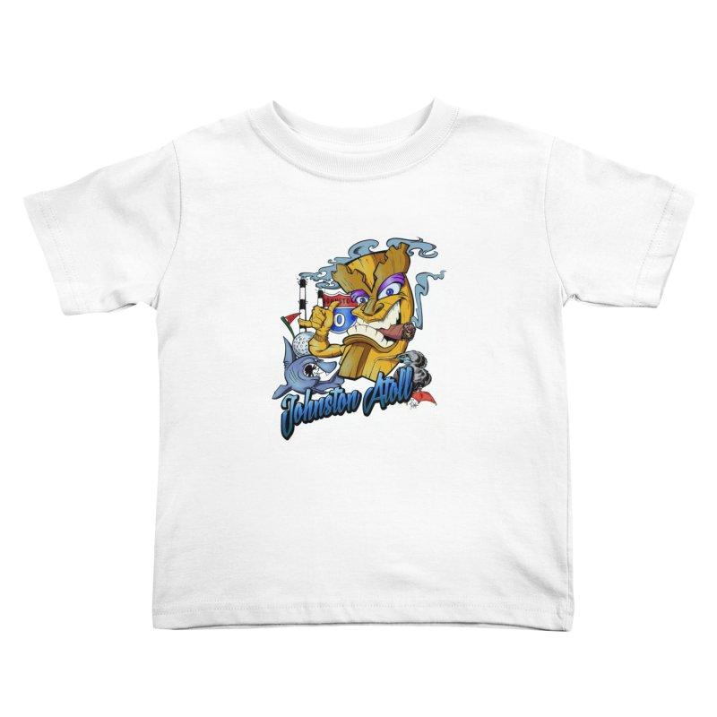 Johnston Island Kids Toddler T-Shirt by goofyink's Artist Shop