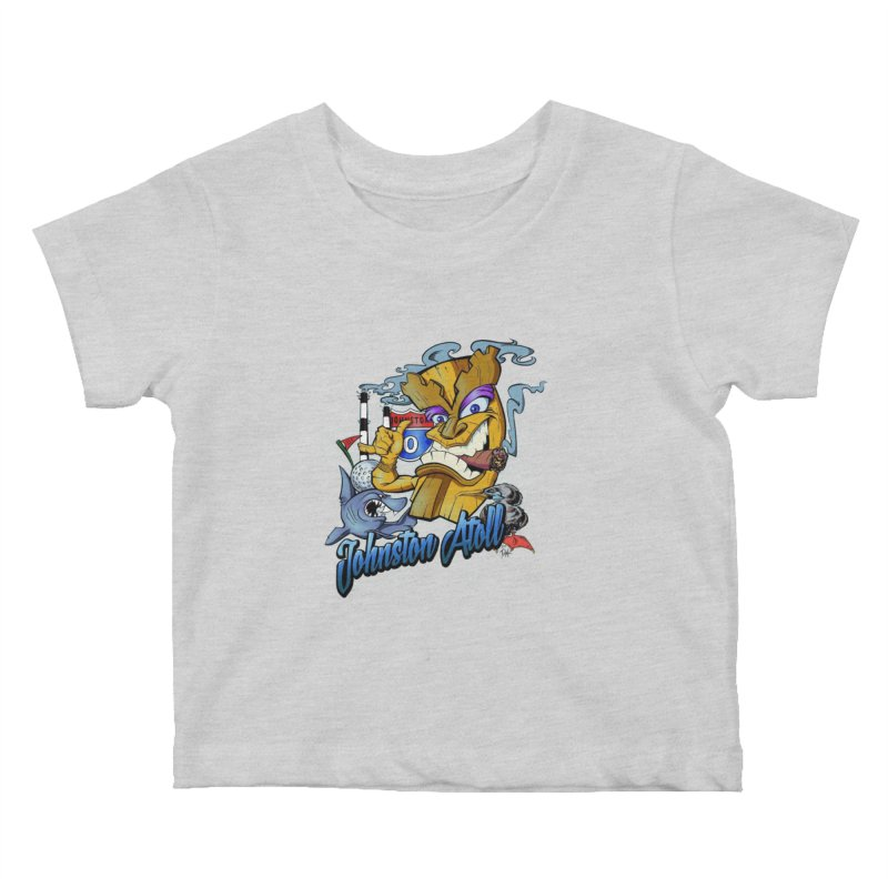 Johnston Island Kids Baby T-Shirt by goofyink's Artist Shop